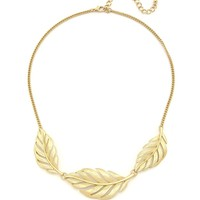 The Slightest Whisper Necklace - Matte Gold