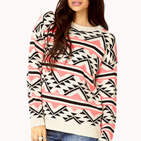 Warm Southwestern-Inspired Sweater