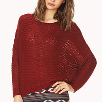 Cozy Open-Knit Sweater