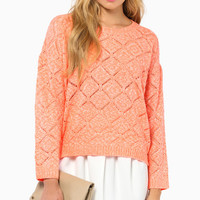 Karina Knit Sweater $37