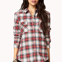 Heavy Metal Plaid Shirt
