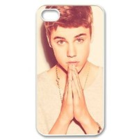 Case Gorilla Justin Bieber iphone 4/4s Case Plastic Hard Phone case