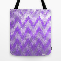 purple play Tote Bag by Marianna Tankelevich
