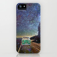 Stars Wander wolkswagen. Dreams. Green iPhone & iPod Case by Guido Montañés