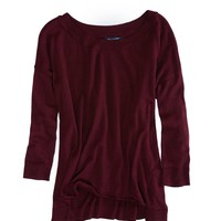 AEO FACTORY SLOUCHY CREW SWEATER