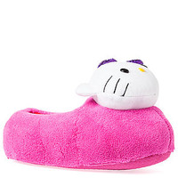The Hello Kitty Super Plush Slipper in Hot Pink