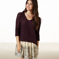 AE SHIMMER SWEATER