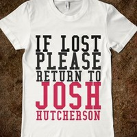 If Lost Return To Josh