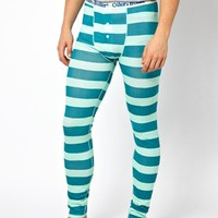 Oiler & Boiler Stripe Long Johns