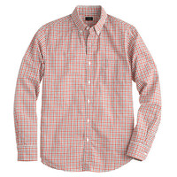 SLIM SECRET WASH SHIRT IN TWO-TONE CHECK