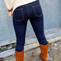 Denim Skinnies {Classic Blue}