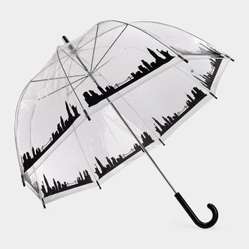 New York Skyline Bubble Umbrella