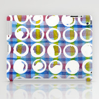 Blue Pattern iPad Case by LacyDermy