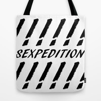 SEXPEDITION Tote Bag by Richard Casillas