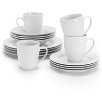 Walmart: Ten Strawberry Street Simply White Round 32-Piece Dinnerware Set