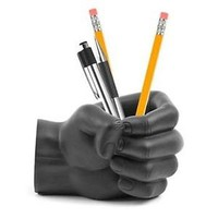 Fist Pen Holder Desk Tidy