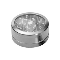 Aluminum Window Herb Grinder - 2-part - Choice of 9 colors - Herb Grinders - Smoking Accessories - Grasscity.com