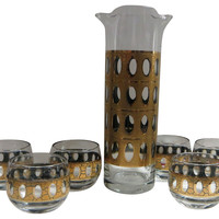 Gold Barware, 7 Pcs
