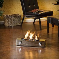 Loft Portable Indoor / Outdoor Fireplace — QVC.com