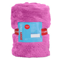 Teen Vogue Faux Fur Blanket