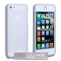 iPhone 5S Case Clear Silicone Gel Cover