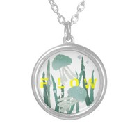 Jellyfish and Seaweed FLOW Necklace