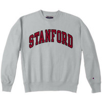 Stanford Reverse Weave Crew Neck Sweatshirt | Stanford University