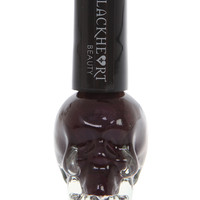 Blackheart Plum Metallic Nail Polish