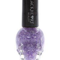 Blackheart Purple Feather Nail Polish