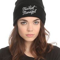 Harry Potter Mischief Managed Watchman Beanie