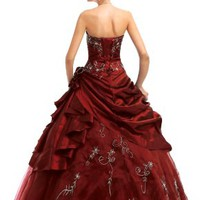 Faironly M37 Strapless Prom Dress Stock