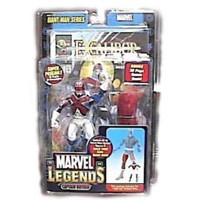 Marvel Legends Exclusive Series Action Figure Captain Britain with Giant Man Builder Piece
