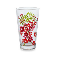 Cherry Blossom Etched 21-Ounce Highball