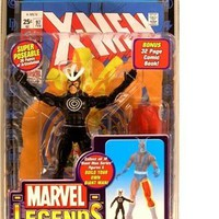 Marvel Legends Exclusive Series Action Figure Havok with Giant Man Builder Piece