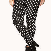Standout Polka Dot Leggings