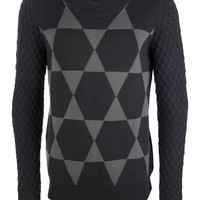 DIESEL BLACK GOLD 'Khrisalis' sweater