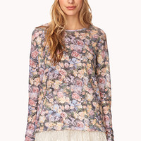 Enchanted Floral Print Top