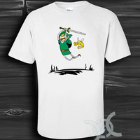 Adventure Time Zelda White Design By Custom And Clothing T-Shirt men size S,M,L,XL