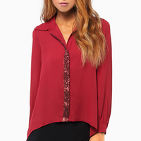 Sparkle Lane Blouse $48