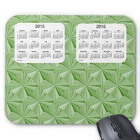 Jade Diamonds 2 Year 2015-2016 Calendar Mousepad