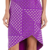 Geometric Print Sheath