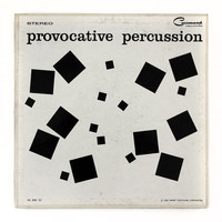 "Josef Albers record album design, 1959. ""Provocative Percussion"" LP"