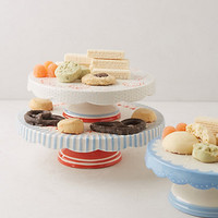 Scalloped Celebration Cake Stand