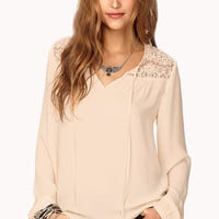 Essential Eyelash Lace Top