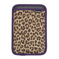 Leopard print iPad Mini sleeve