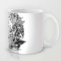 Sea Ocean Animals Art Design Mug by Bluedarkat Lem