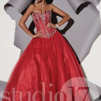 Studio 17 Dress 12474 at Peaches Boutique