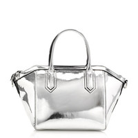 TARTINE MINI-SATCHEL IN ITALIAN METALLIC LEATHER