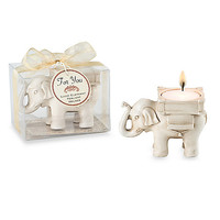 Kate Aspen® Lucky Elephant Tealight Holder Wedding Favor