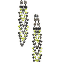Faceted Rhinestone Geo Earring | Arden B.
